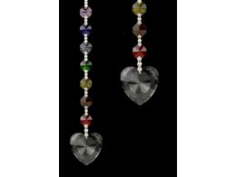FENG SHUI kristallripats tšakraketiga - Metta - tingimusteta armastus - VIIMASED